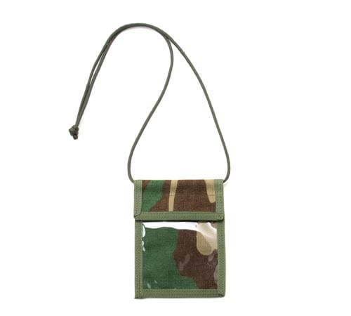 ID Passport Case - Woodland Camo