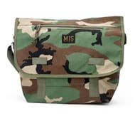 Messenger Bag - Woodland Camo